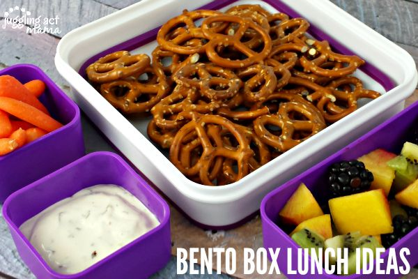 LUNCH IDEAS FOR BENTO BOXES