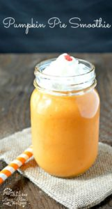Pumpkin Pie Smoothie for Fall