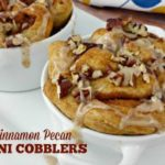 Mini Apple Cinnamon Pecan Cobbler