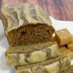 Sliced Caramel Banana Bread