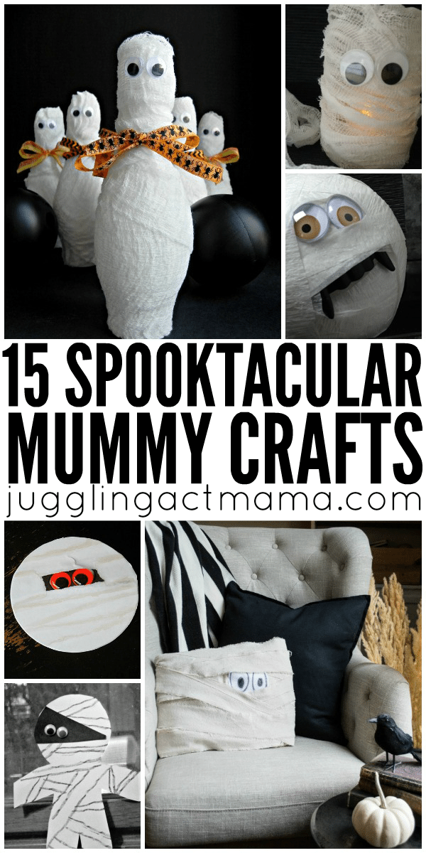 15 Spooktacular Mummy Crafts for Halloween