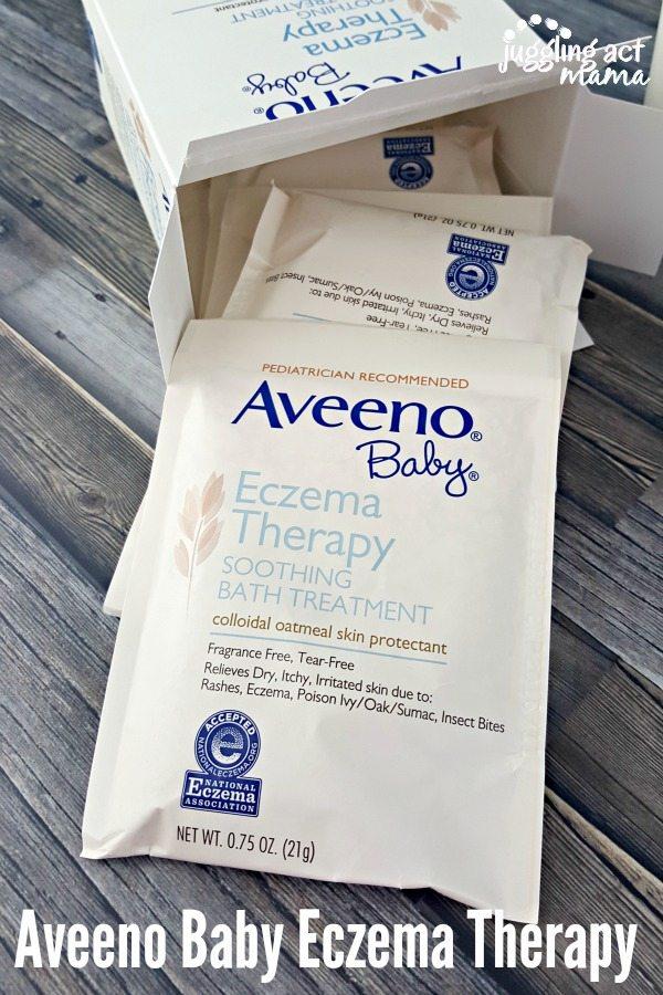 Aveeno Baby Eczema Therapy #AveenoEczemaTherapy