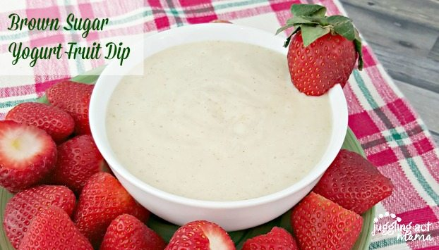 Brown Sugar Yogurt Fruit Dip