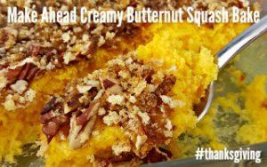 Creamy Butternut Squash Bake