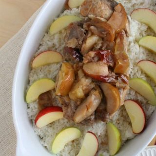 Slow Cooker Pork and Apples