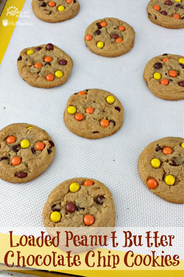 Loaded-Peanut-Butter-Chocolate-Chip-Cookies