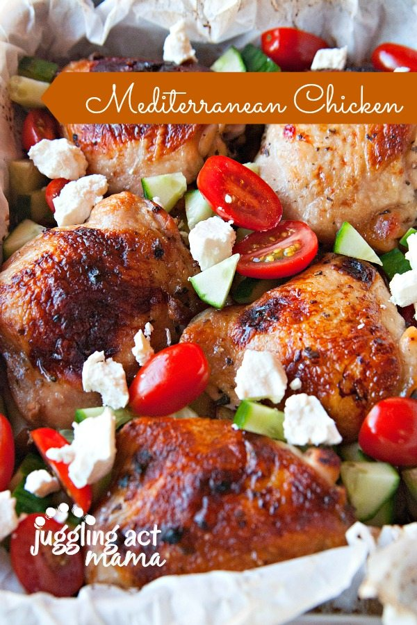 Mediterranean Chicken 600 900 Sheet Pan