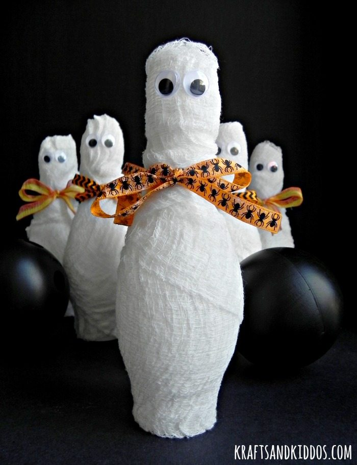 mummy bowling craft