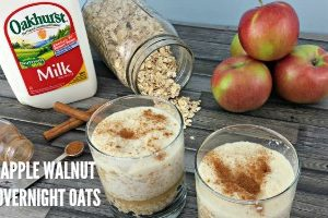 Apple Overnight Oats feature