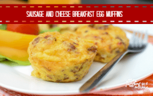 Sausage and Cheese Breakfast Egg Muffins