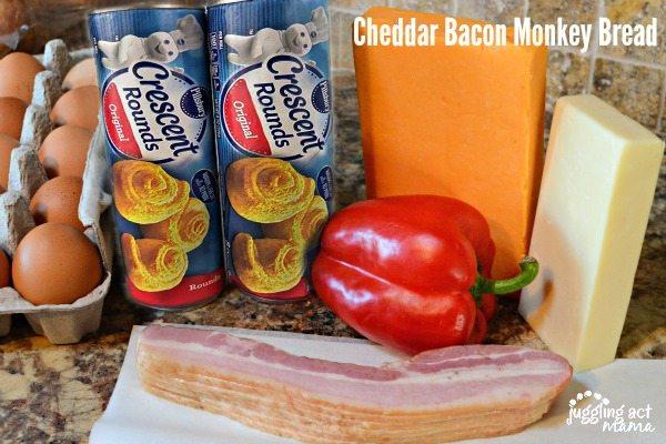 Cheddar Bacon Monkey Bread