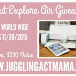 Cricut Explore Air Giveaway