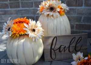 DIY Huntress Fall Pumpkins