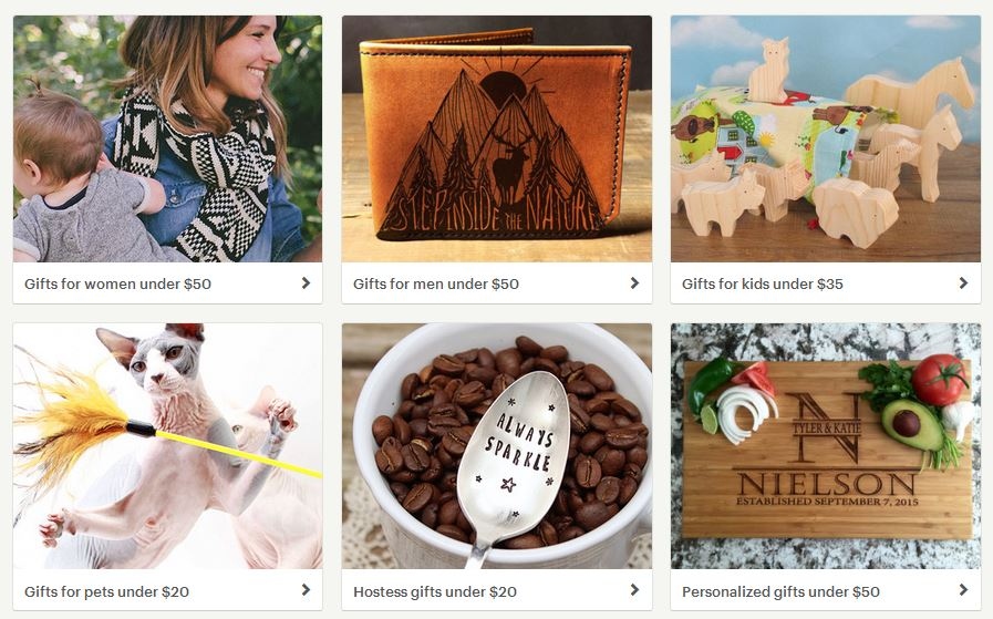 Etsy Gifts for Every Budget