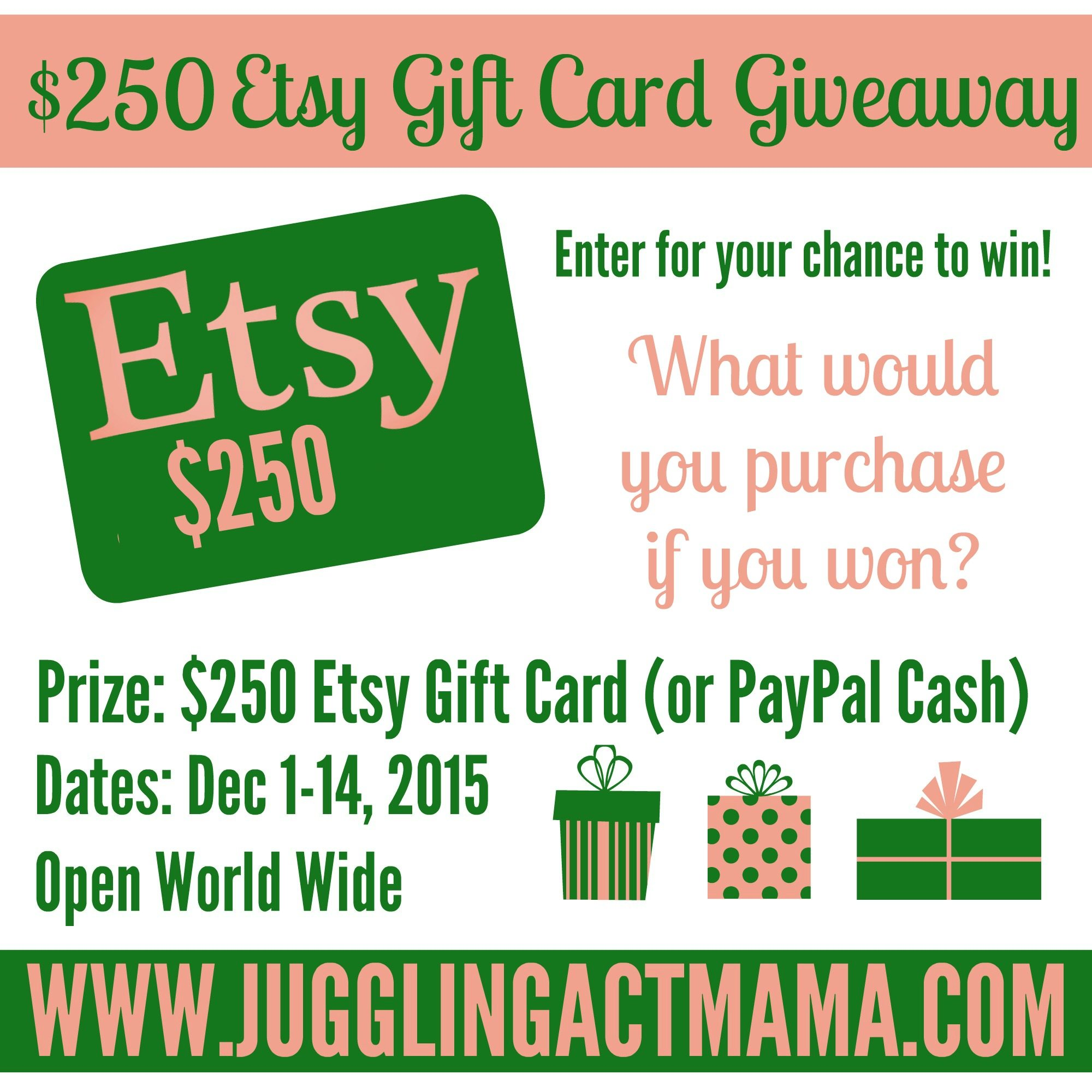 Etsy Giveaway - What would you buy