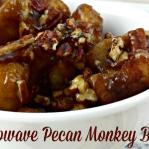 Microwave Monkey Bread with Pecans