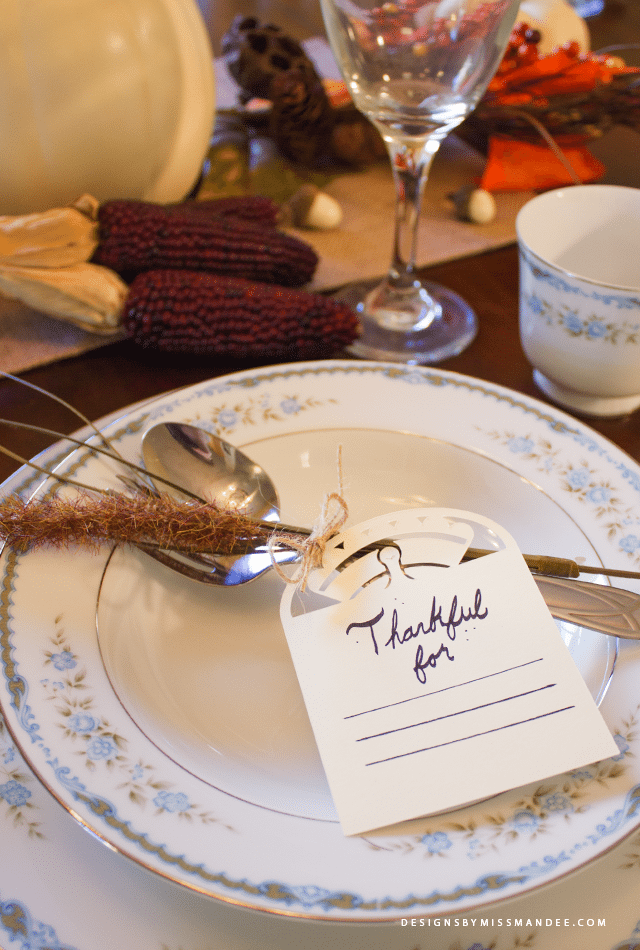 Thanksgiving Gratitude Cards