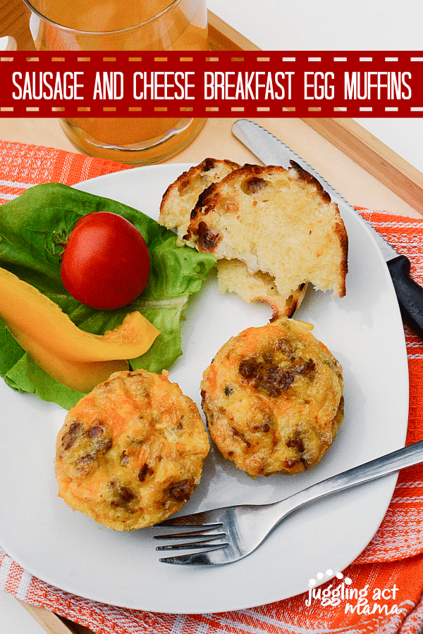 Sausage and Cheese Breakfast Egg Muffins 600 900