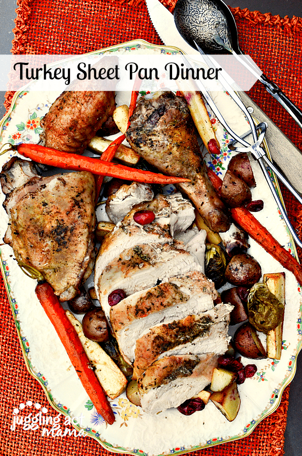 Turkey Breast Recipe for a Sheet Pan Dinner