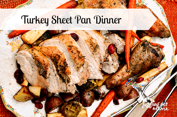 Turkey Sheet Pan Dinner