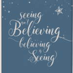 Christmas Decor Printable – Believing is Seeing