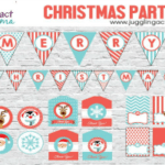 Christmas Party Printable Set