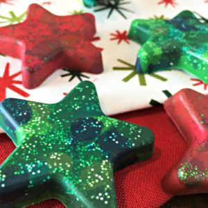 Make Your Own Crayons - great gifts, holiday party favors & stocking stuffers
