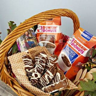 This Coffee Lover's Gift Basket is perfect for your loved ones this holiday season!