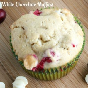 cranberry white chocolate muffins - juggling act mama