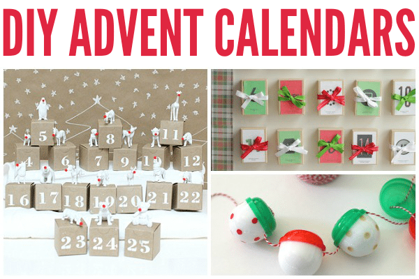 diy advent calendars and activities 2