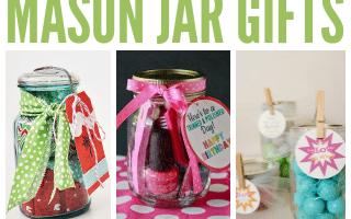 18 DIY Mason Jar Gifts