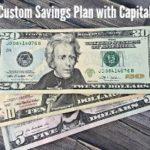 Create a Custom Savings Plan with Capital One 360