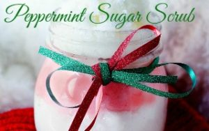 Peppermint Sugar Scrub Stocking Stuffer