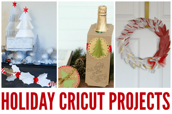 DIY Holiday Projects with the Cricut