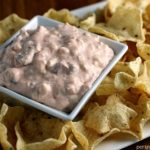 Two Ingredient Creamy Salsa Dip