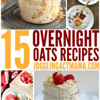 15 Easy Overnight Oats Recipes