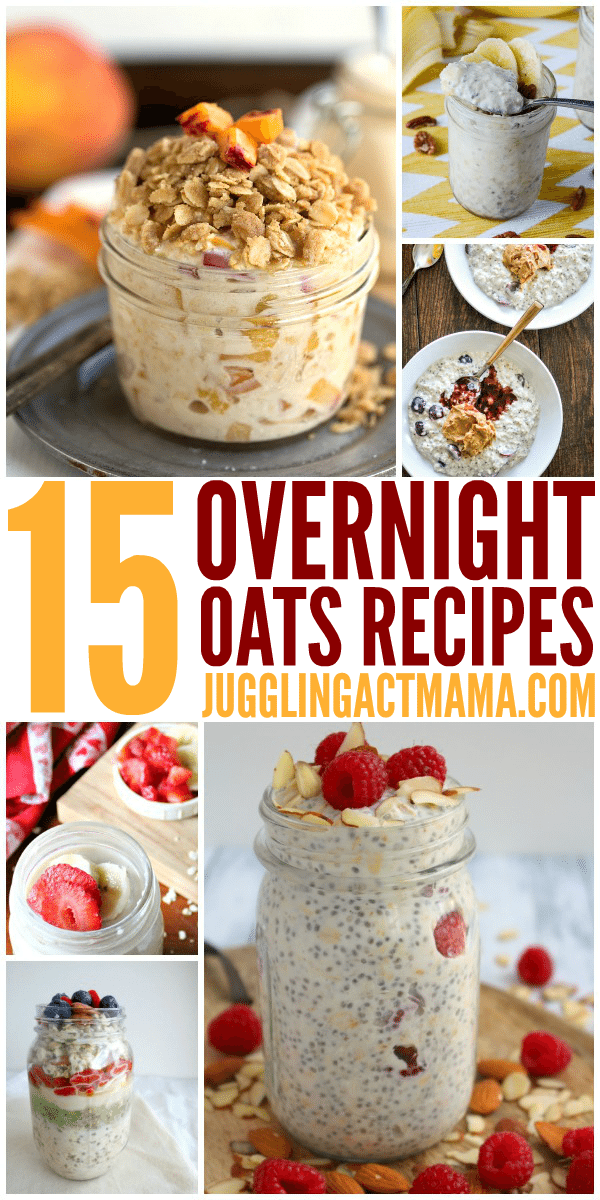 15 Easy Overnight Oats Recipes for a No-Fuss Breakfast