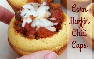 Corn Muffin Chili Cups