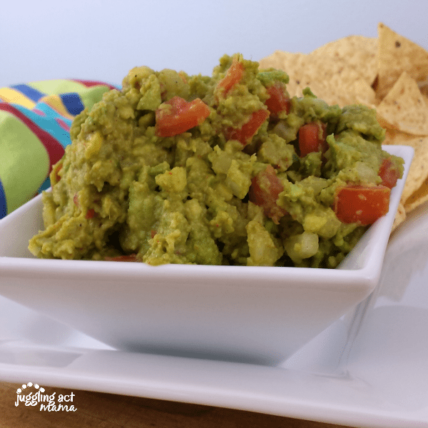Homemade Guacamole Instagram