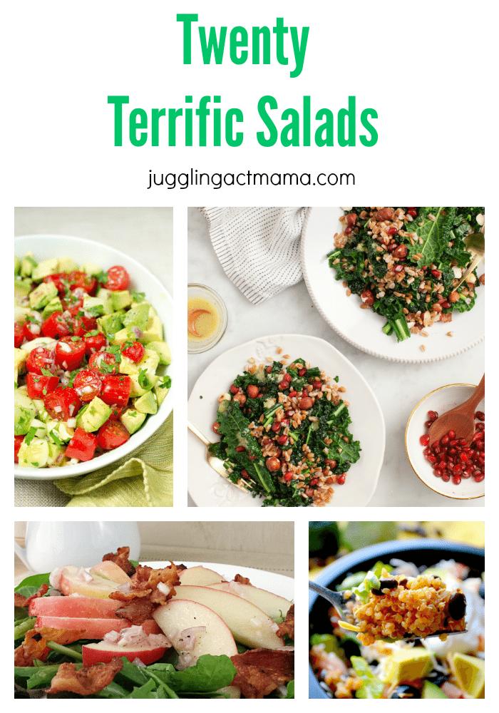 Twenty Terrific Salads Vertical Final