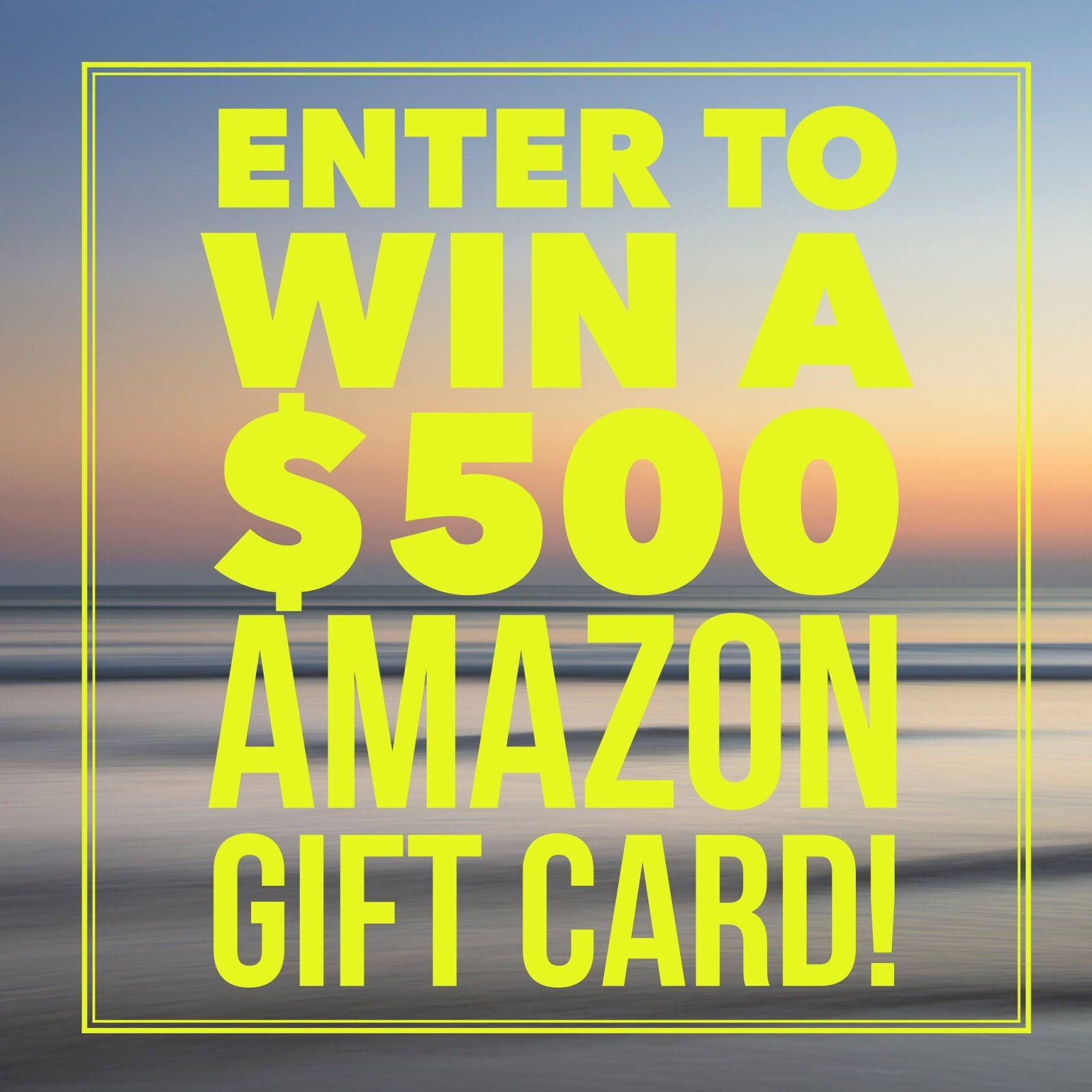 $500 Amazon Gift Card or Cash (via Paypal) - winner's choice