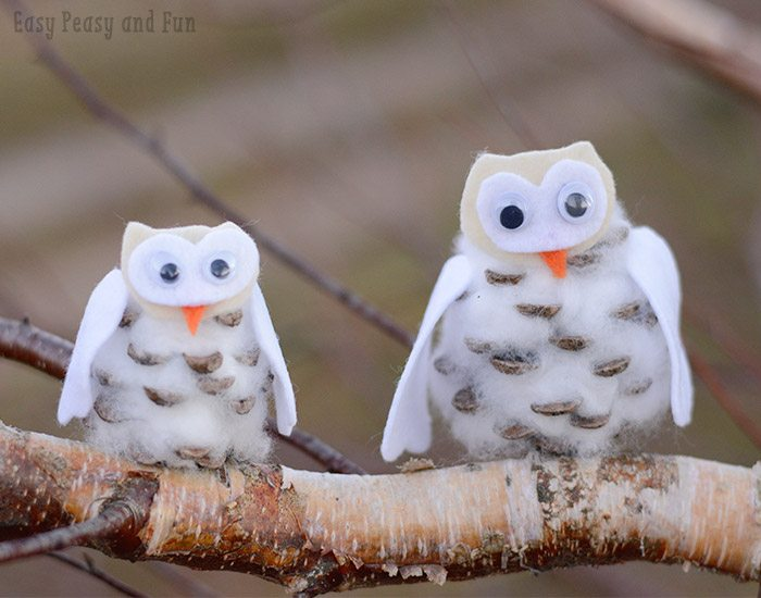 12 Wintry Owl Crafts Juggling Act Mama
