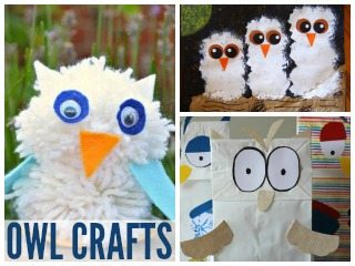 Winter-Themed Owl Crafts