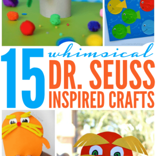 15 Whimsical Seuss Inspired Crafts