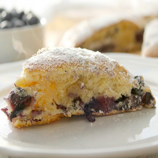 Blueberry Scones - The Bitter Side of Sweet