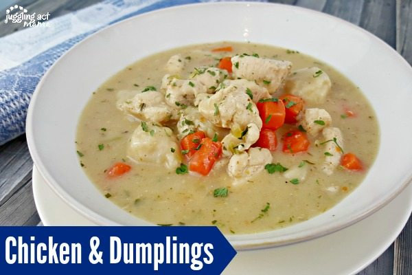 Chicken and Dumplings is the ultimate comfort food