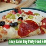 Easy Game Day Party Food and Decorations with@DiGiornoPizza #maketherightcall #CG #ad feature