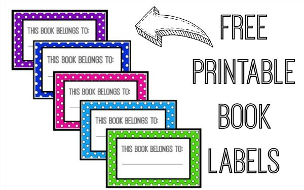 image about Free Printable Name Tags for Students titled E book Popularity Tags Printable - FREEBIE - Juggling Act Mama