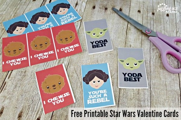Star Wars Valentine's