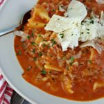 Meat Lasagna Soup